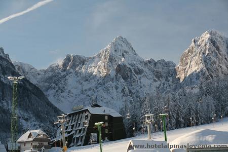Skipiste Slovenië